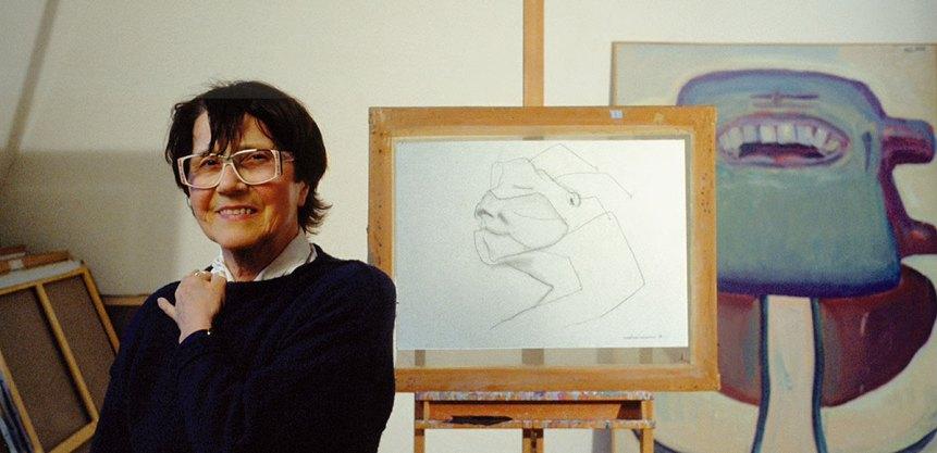 Image result for maria lassnig
