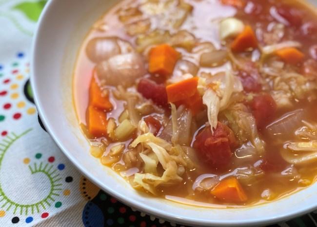 Instant Pot(R) Vegan Cabbage Detox Soup
