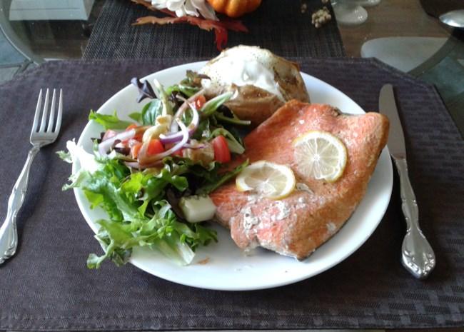Instant Pot(R) Frozen Salmon