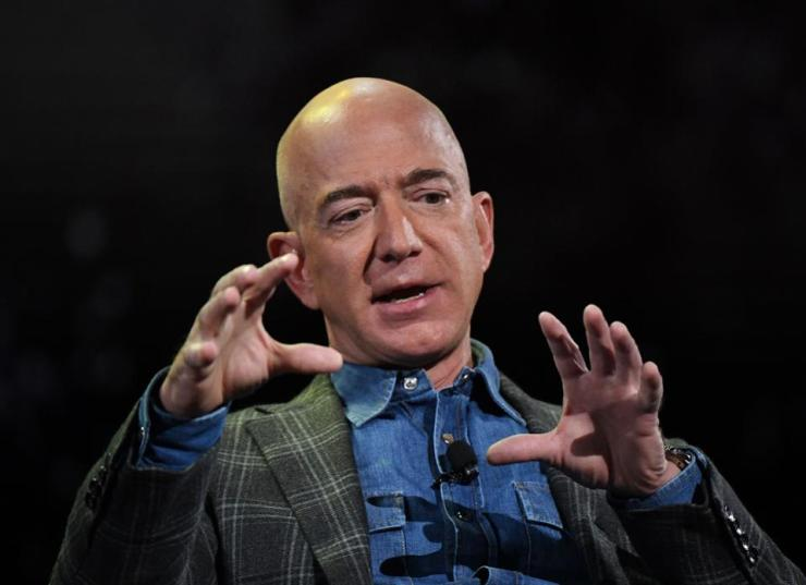 Amazon founder and CEO, Jeff Bezos.