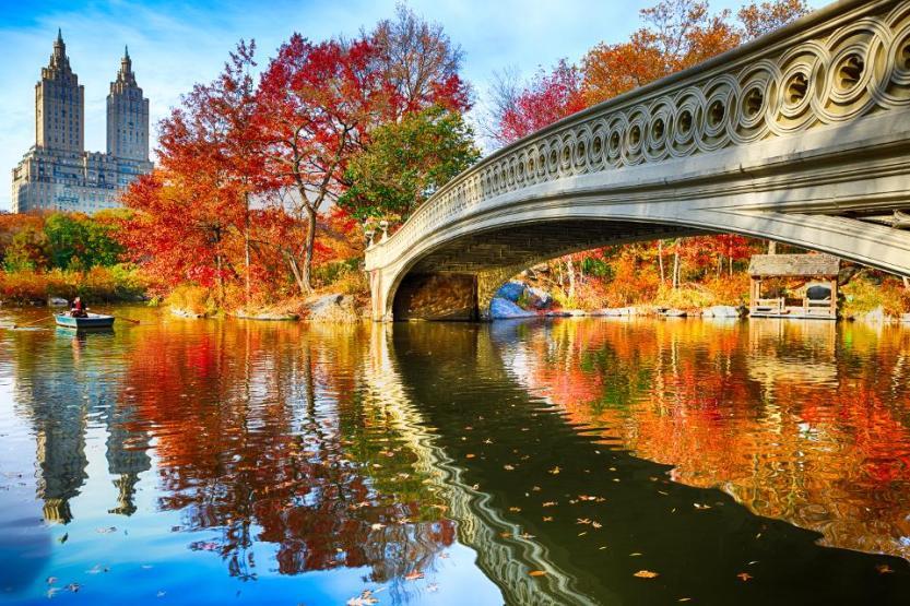 Central Park at autumn