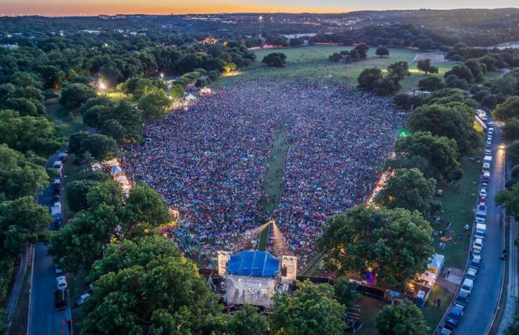 Festival in Austin, Texas