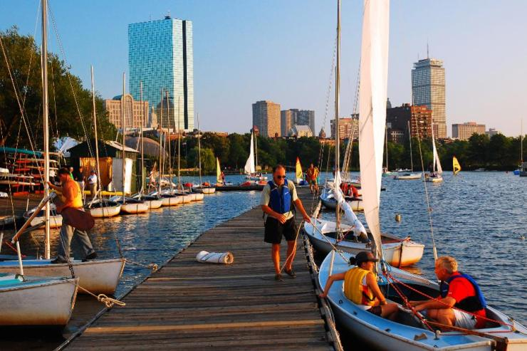 Community Boating, Boston