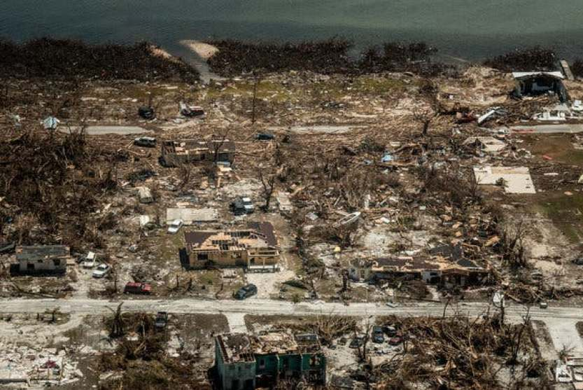 McLean's Town on Grand Bahama Island on Friday.