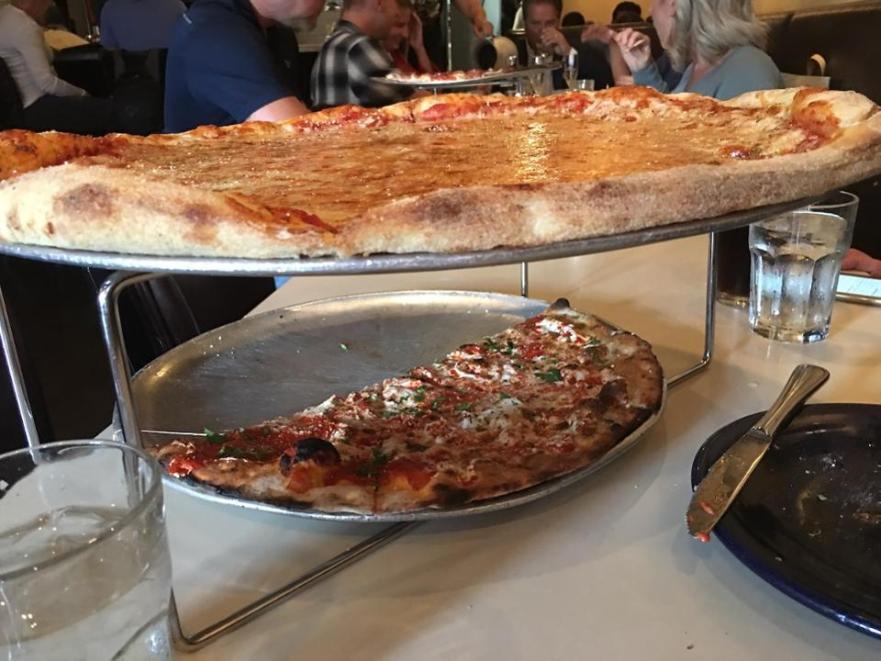 Two pizzas at Tony's Pizza Napoletana