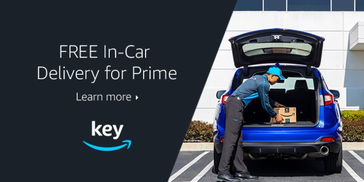 Free In-car delivery for Prime