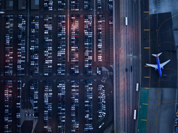 Airport parking is expensive. There might be ways to save money.