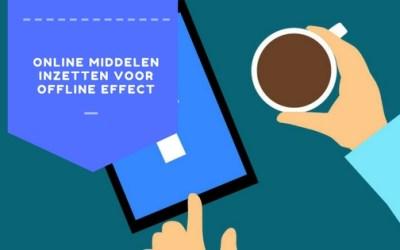 Beweeg mee met de online revolutie en creëer offline effect