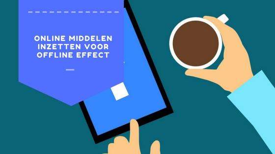 offline communiceren voor offline effect