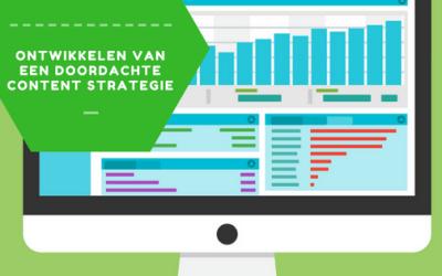 Ontwikkelen van een succesvolle content strategie