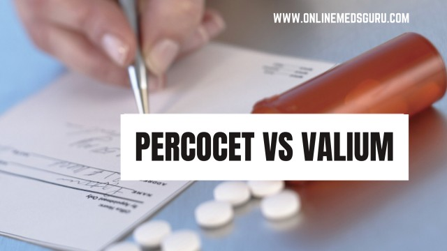 What is Difference Between Percocet and Valium