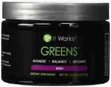 it works! greens