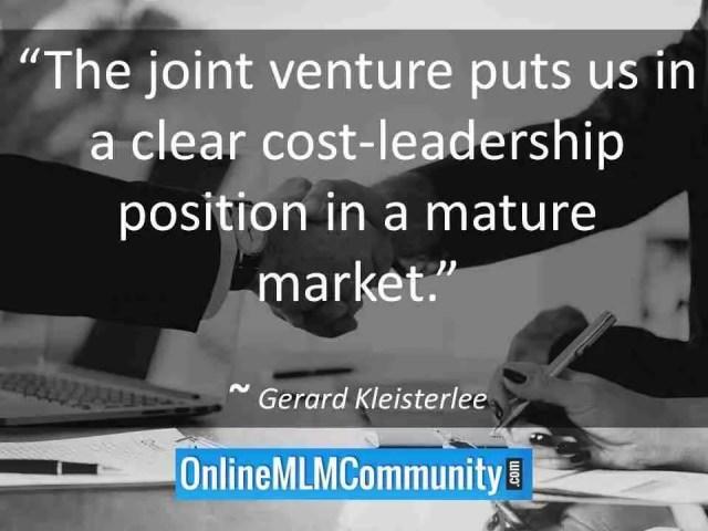 mlm joint ventures