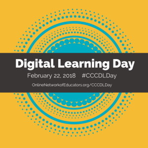 Digital Learning Day Social Graphic