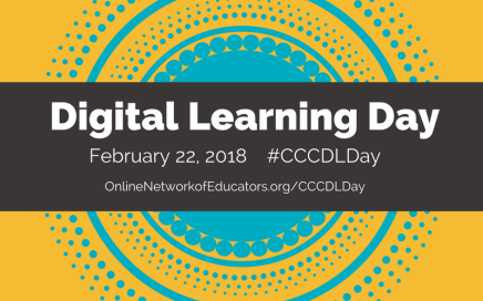 Get ready for CCC Digital Learning Day