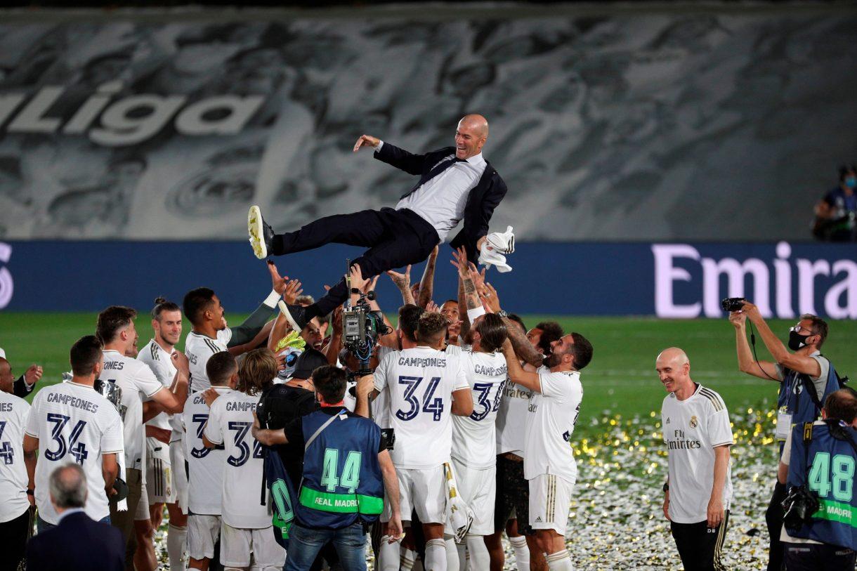 Ex-Eagles Star Adepoju Celebrates Real Madrid's LaLiga Win