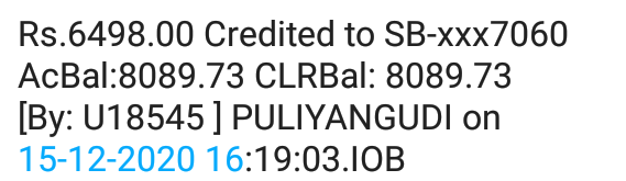 Sebi is starting to credit PACL money to people's bank accounts.