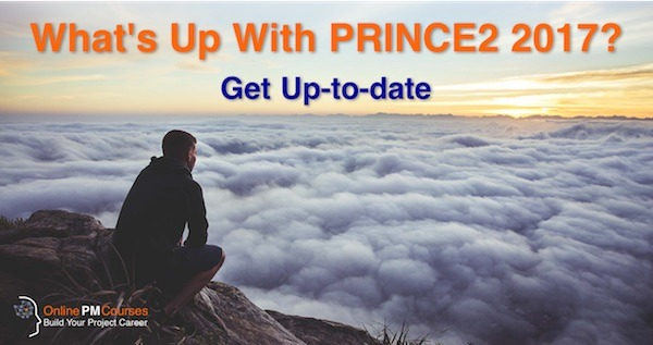 What's up with PRINCE2 2017?