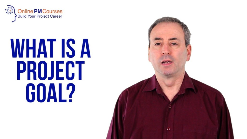 What is a Project Goal?