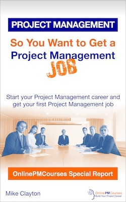So You Want to Get a Project Management Job