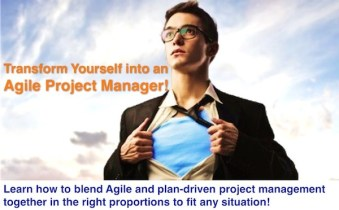 Transform yourself into an Agile Project Manager