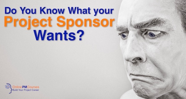 Do You Know What Your Project Sponsor Wants?