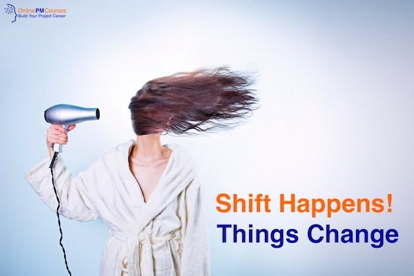 Shift Happens - Things Change