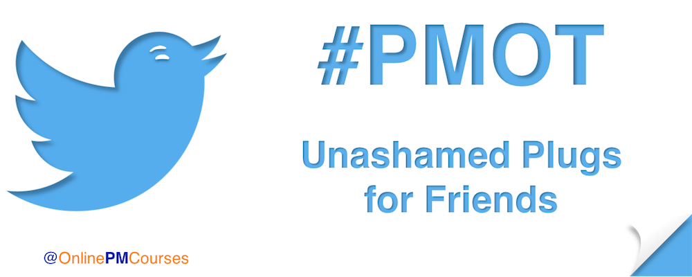 #PMOT Unashamed Plugs for Friends