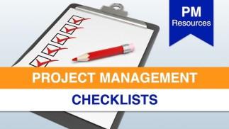 Project Management Checklists