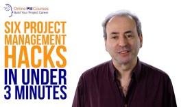 6 Project Management Hacks