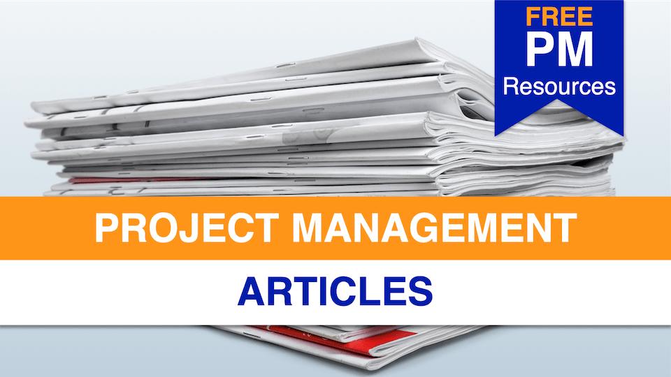 Project Management Articles