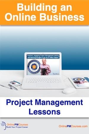 Building an Online Business - Project Management Lessons