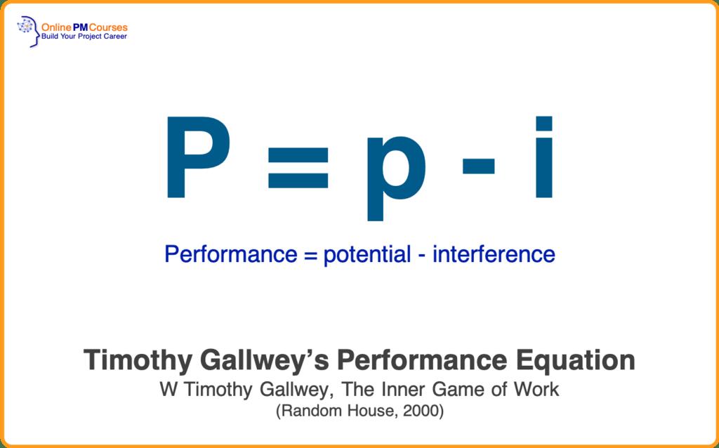 Timothy Gallwey - Performance Equation