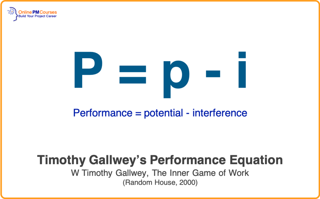 Timothy Gallwey - Performance Equation