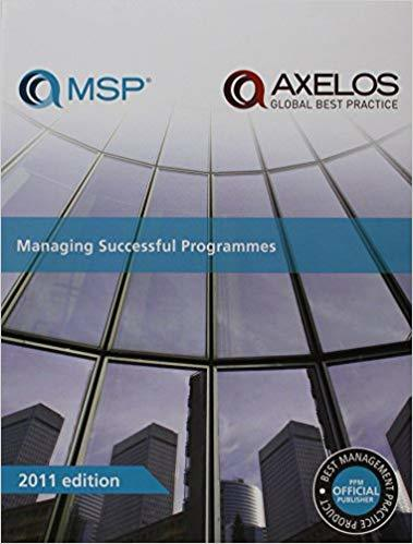 Managing Successful Programmes 4th Ed