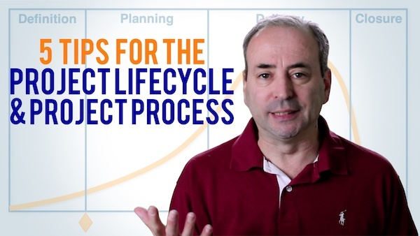 Project Lifecycle & Project Process - 5 Tips | Video