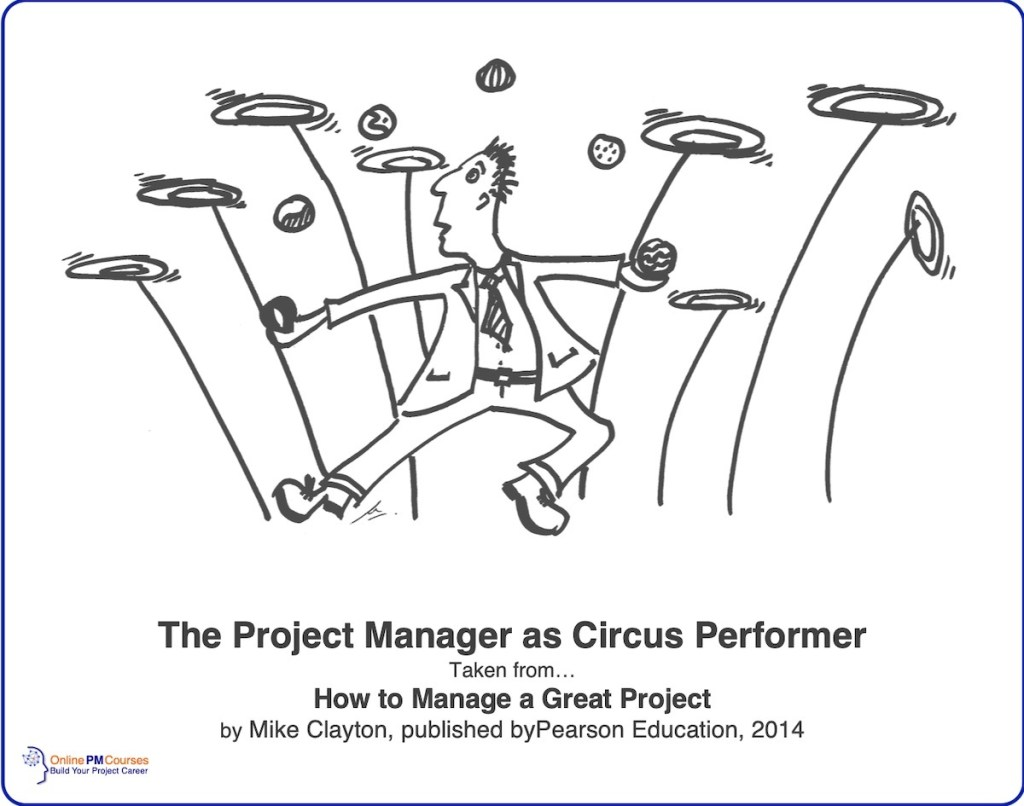 Project Manager as Circus Performer