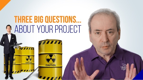Project Definition: Three Big Questions about Your Project | Video