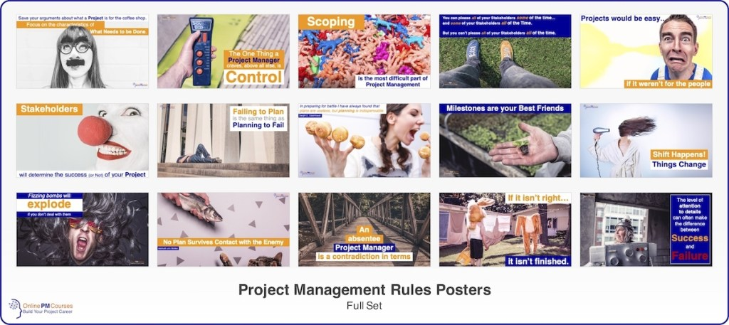 Project Management Rules - Full Set