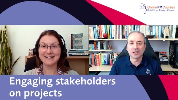 Engaging Stakeholders on Projects: Interview with Elizabeth Harrin | Video