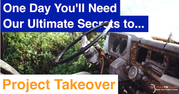 One Day You'll Need Our Ultimate Secrets to Project Takeover
