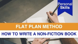 How to Write a Non-fiction Book with the Flat Plan Method