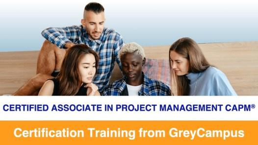 GreyCampus CAPM Certificatied Associate in Project Management