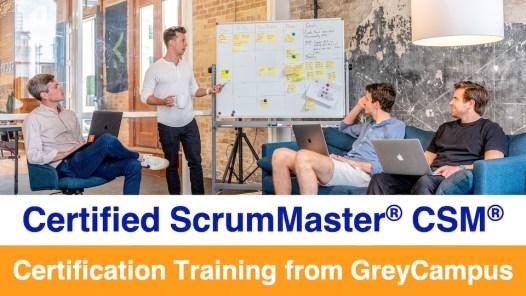GreyCampus Certified ScrumMaster CSM