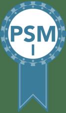 Scrum.org PSM I Badge