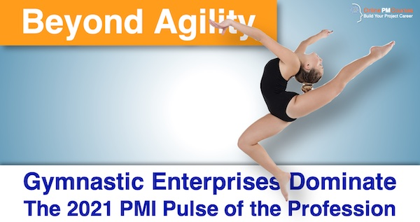 Beyond Agility: Gymnastic Enterprises Dominate the 2021 PMI Pulse of the Profession