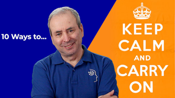 10 Ways to Keep Calm and Carry on   Video