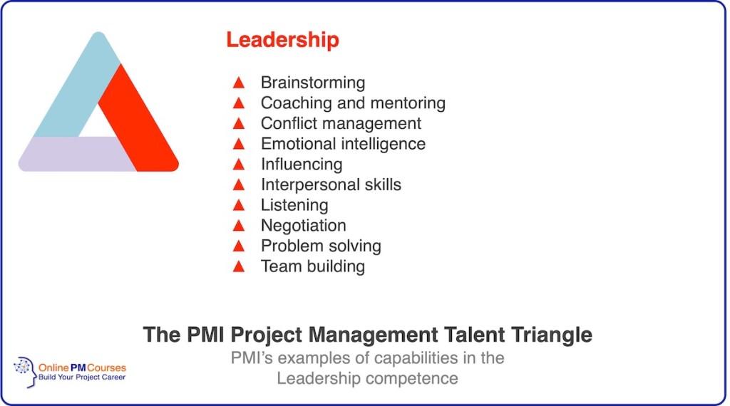 PMI Talent Triangle - Leadership