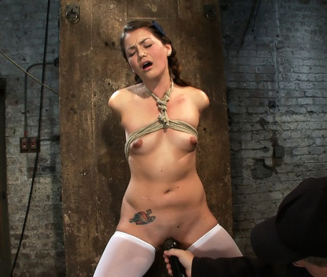 Allie Haze In Hogtied Thigh Highs And Cotton Pantieswere Going To Hell July 15 2010 Rope Bondage Humiliation Online Porn 24