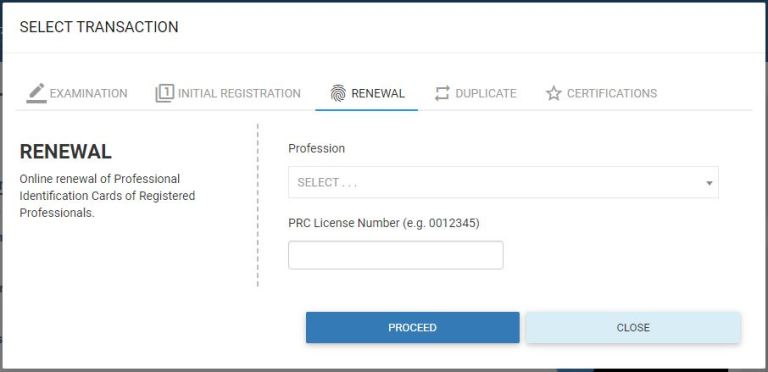 How to renew Professional Identification Card (PIC) or PRC ...